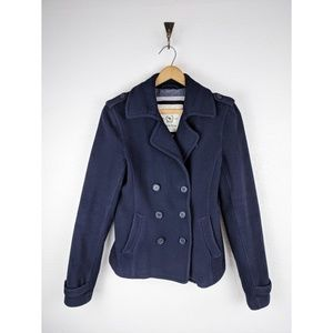 Abercrombie and Fitch double breasted wool coat